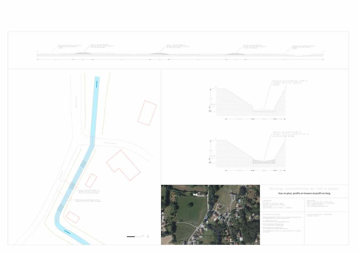 04 Vues du projet en plan et en profil